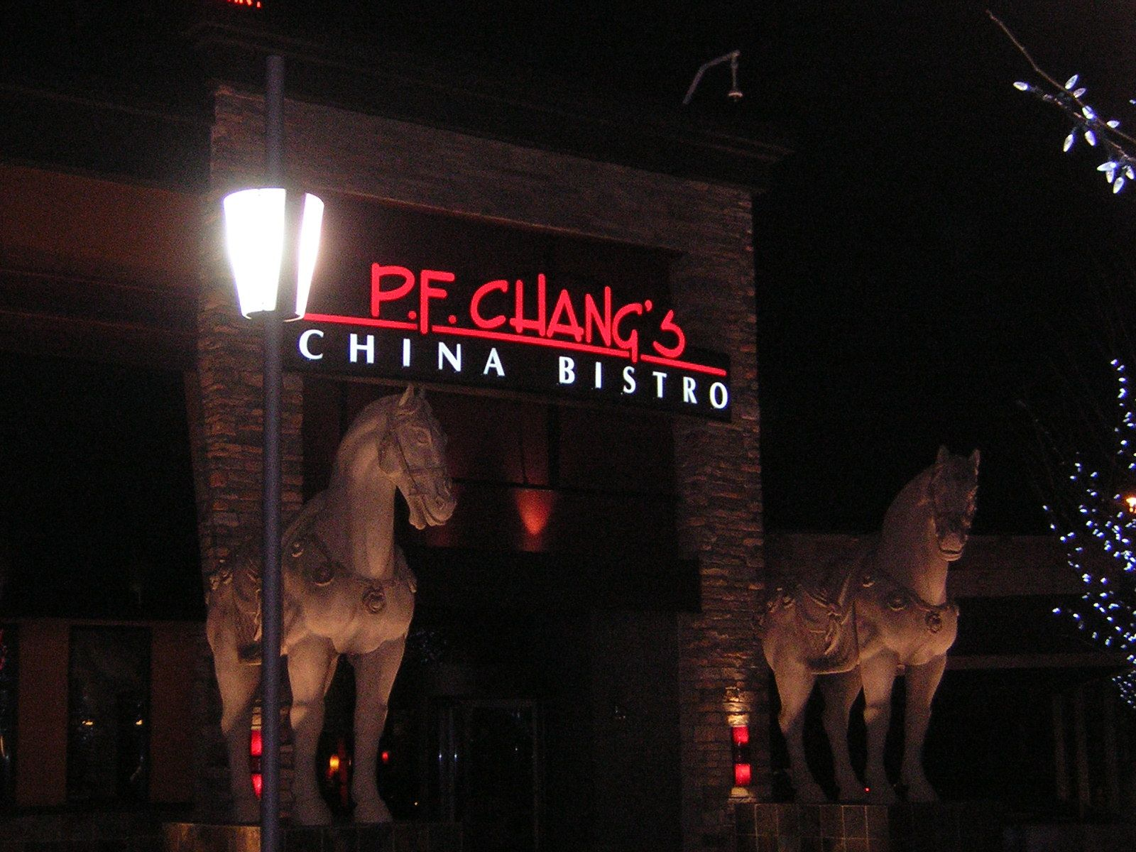 PF Changs.  I love chinese food.  My first experience with PF's was in Honolulu and every major American city afterward.  PF combines strong consistent branding, with a polished experience to a favourite, paying attention to every little detail.  At a stag I was at last spring, one of our buddies had an allergy to peanuts.  PF's has special branded plates designed specifically to identify special orders without compromising presentation.  Perfect.