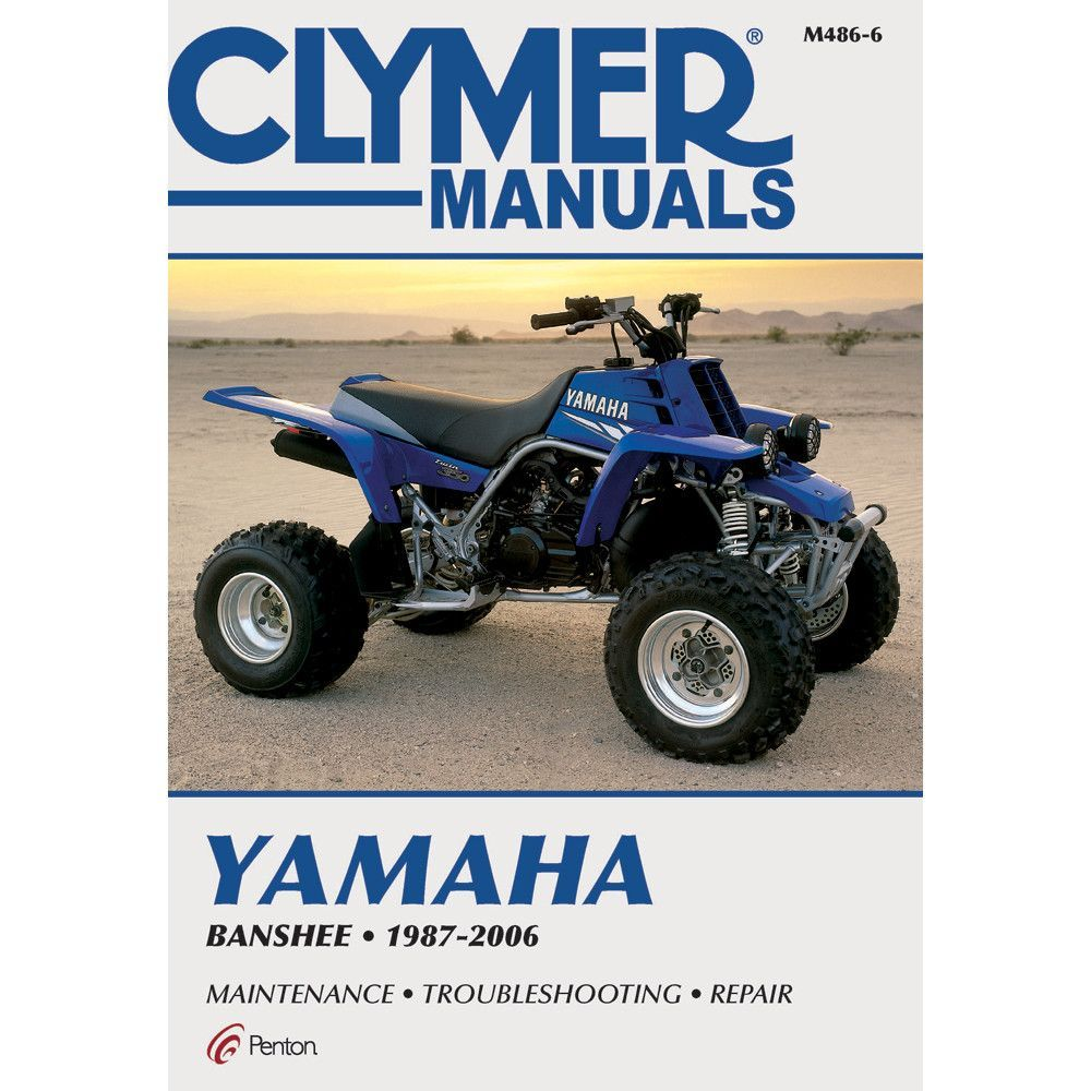 Clymer Yamaha Banshee (1987-2006) Yamaha Atv, Repair Manuals, Automotive  Tools