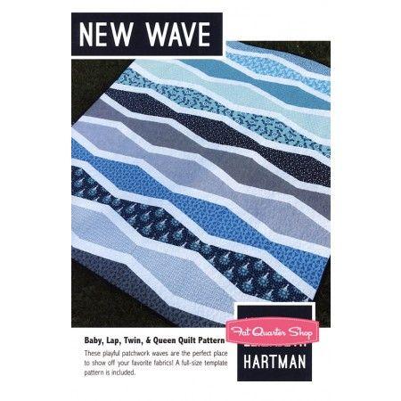 New Wave Quilt Pattern<BR>Elizabeth Hartman #EH-007
