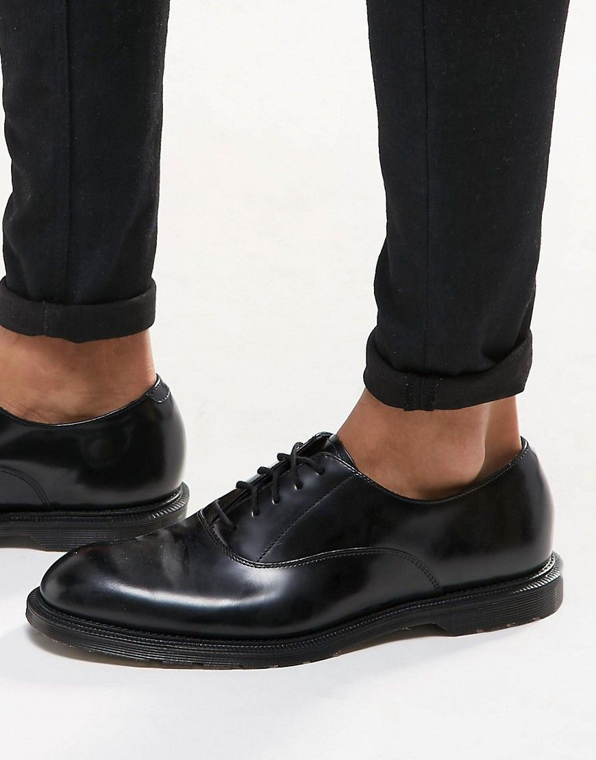 cf21e1b608 Dr Martens Henley oxford shoes in black | STYLE | Oxford shoes ...