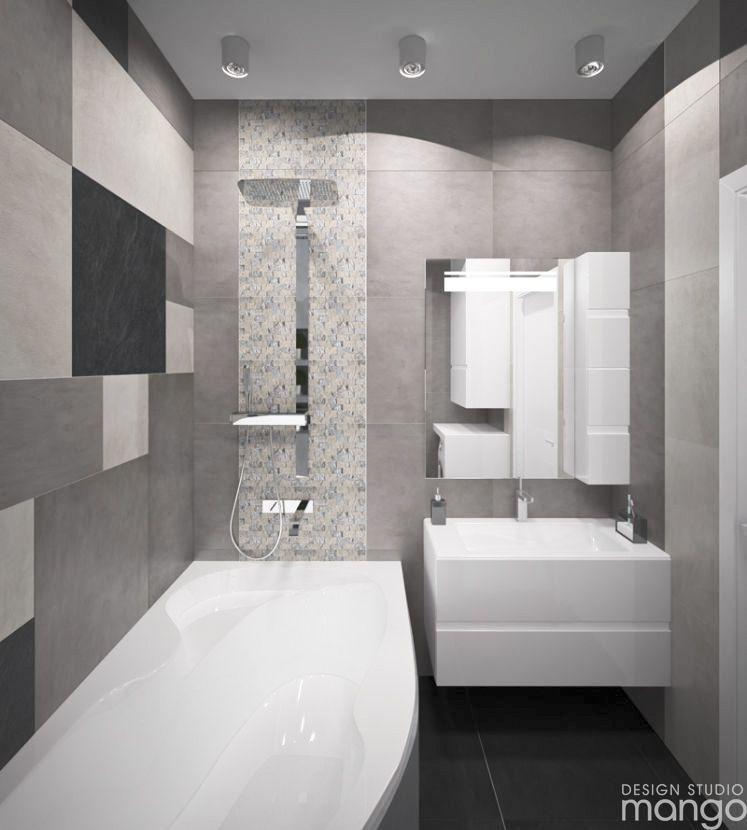 Moderne kleine Badezimmer Designs kombiniert mit verschiedenen - kleine badezimmer design