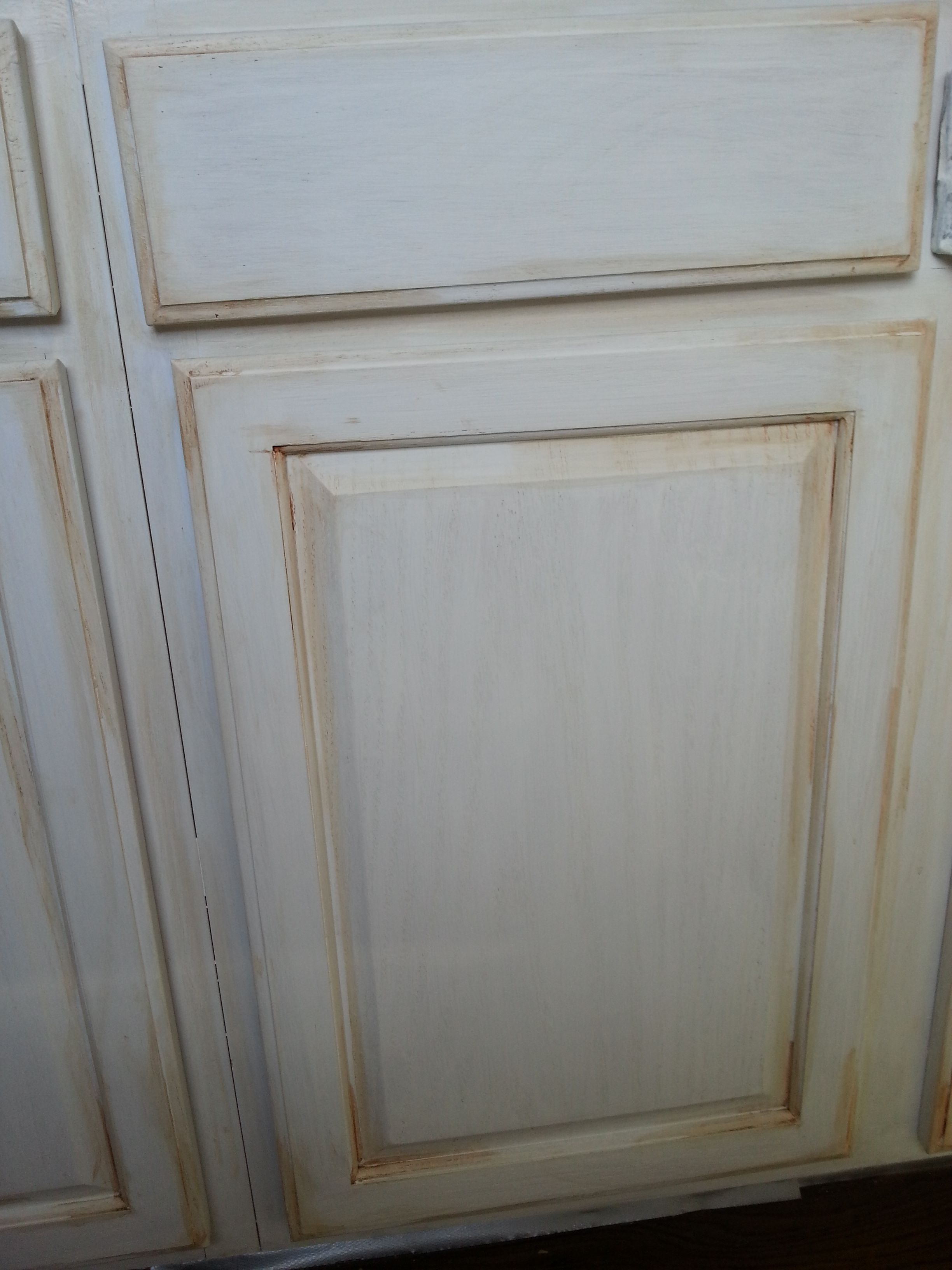 Rustoleum Cabinet Transformation Antique White With