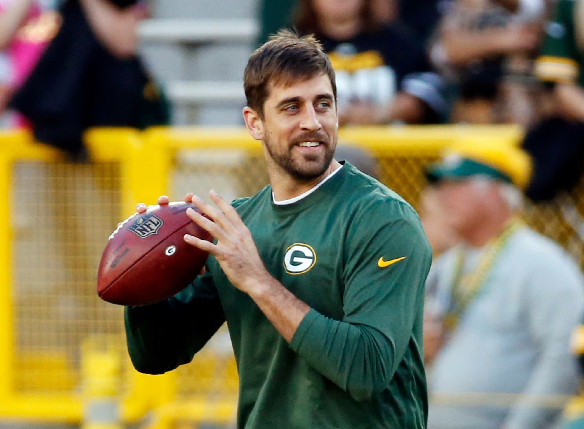 Aaron Rodgers Pre Game Warm Up Super Bowl Wins Rodgers Packers Football