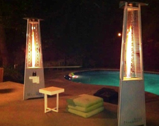 Attractive Designer Patio Heaters Available For Both Propane And Natural Gas, From  Italian Designer JR Zioni. Enjoy The Unity Of Form And Function In These  Unique ...