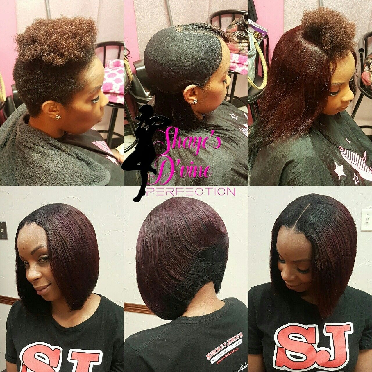 pin by deasha on braids in 2019 | short hair styles, weave