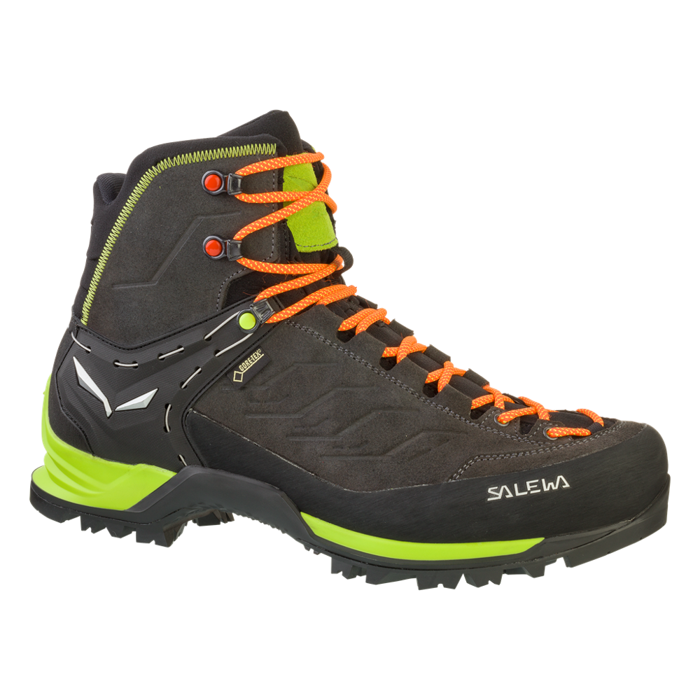 Buty Salewa Ms Mtn Trainer Mid Gtx 0974 Black Sulphur Spring Mens Hiking Boots Hiking Boots Trekking Outfit