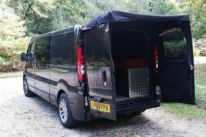 Rear Door Cover Campervan Doors Vehicles
