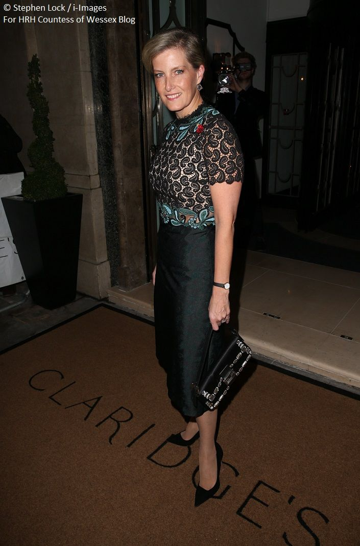 The Countess of Wessex at the Harper's Bazaar Women of the Year Awards   HRH The Countess of Wessex