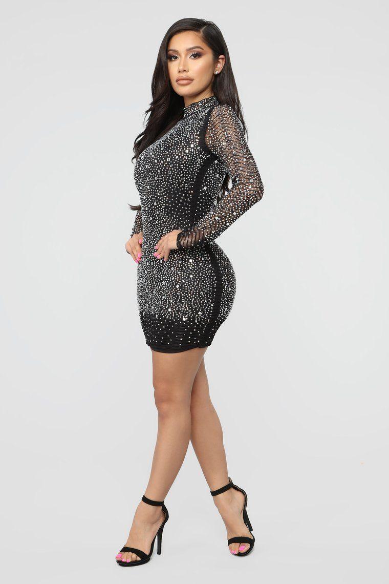 On A Pedestal Rhinestone Mini Dress Black Rhinestone Mini Dresses Mini Dress Mini Black Dress [ 1140 x 760 Pixel ]