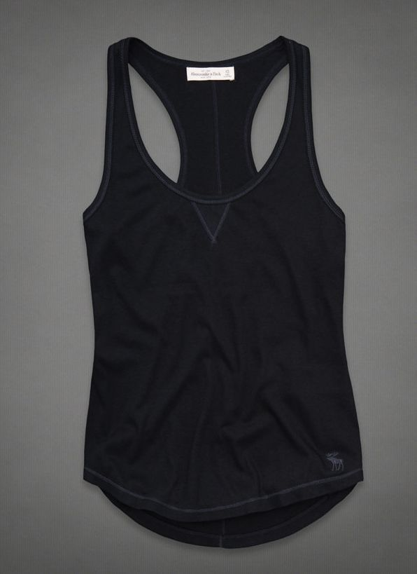 060a1791636 New Hollister by Abercrombie A F Womens Ladies Dianne Sexy Tank Top Tee |  eBay $17.00