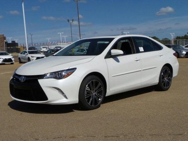 2016 Toyota Camry Se W Special Edition Pkg Sedan New