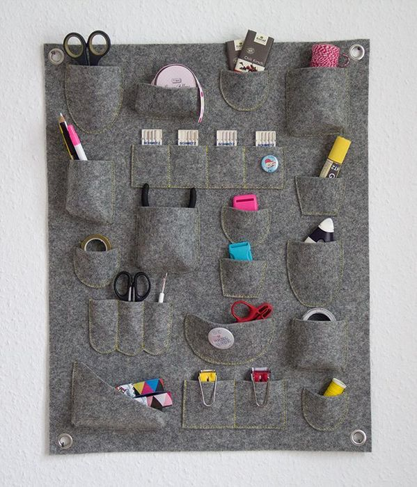 Am nager son coin couture le rangement mural diy id es pour la maison - Couture pour la maison ...