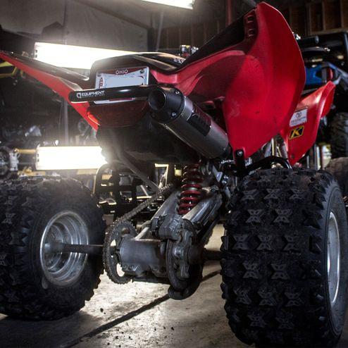 Honda® TRX 400EX ATV Exhaust - HMF Racing | HMF Blackout Exhausts
