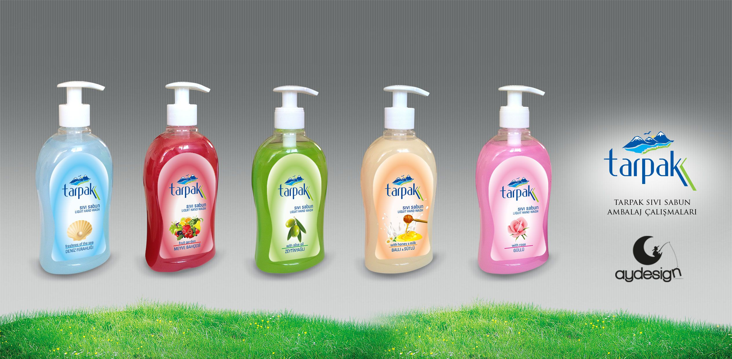 Tarpaz Liquid Hand Wash Soap Label Design Seria B Soap Label