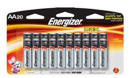 Energizer Max Aa 16 Count 4 Free Pack Batteries 20 Total Batteries By Energizer 14 16 Amazon Com Product Descriptio Energizer Energizer Battery Battery