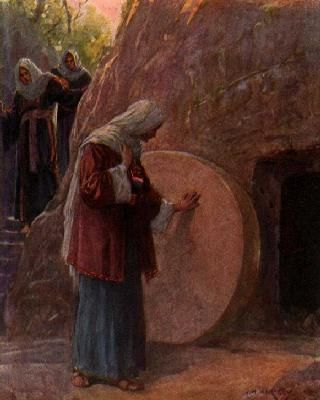 "The Stone is Rolled Away. BIBLE SCRIPTURE: Mark 16:4, ""And when ..."