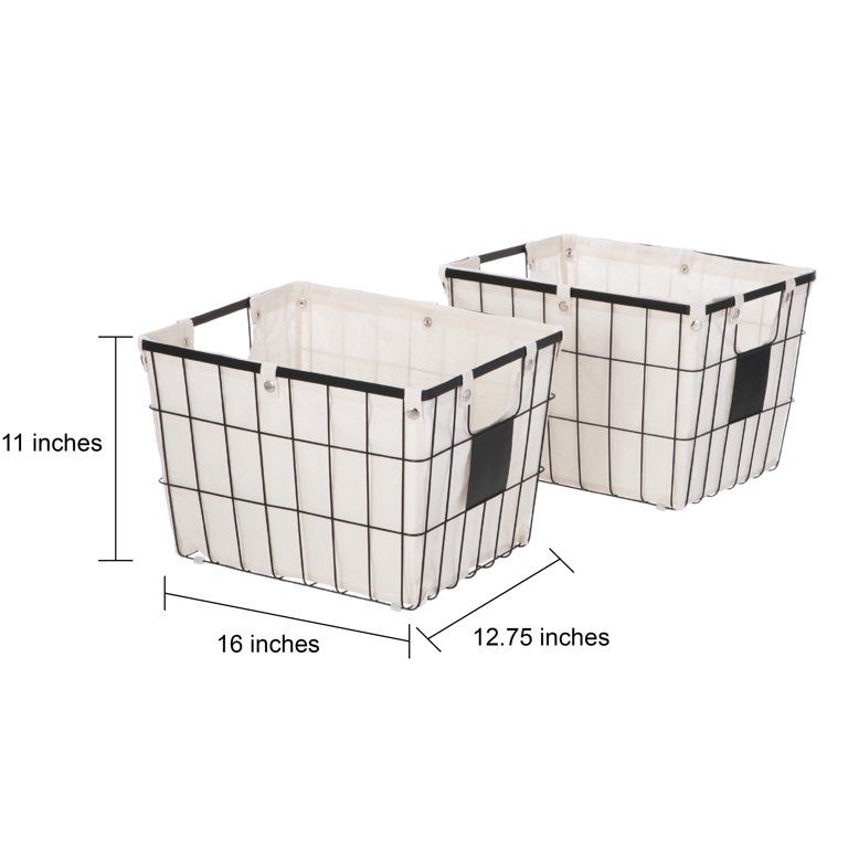 abffb7270e4e09ae1c4fbf465bd2356f - Better Homes And Gardens Wire Basket With Chalkboard Black