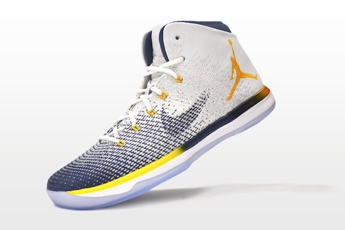 f2dd6dbfcef The Cal Golden Bears Receive Their Own Air Jordan 31 Cheap Air Jordan XXX Shoes  Retro Men ...