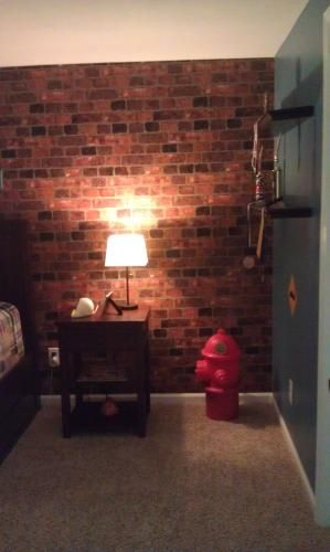 The Wallpaper Company 56 Sq Ft Red Brick WC1281334 At Home Depot