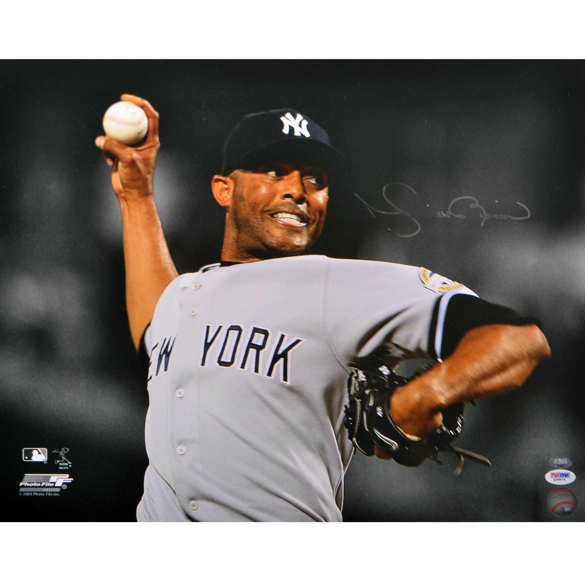 Mariano Rivera Signed 16x20 Photo Psa Dna Smudged 8x10 Photo Photo Fun Sports