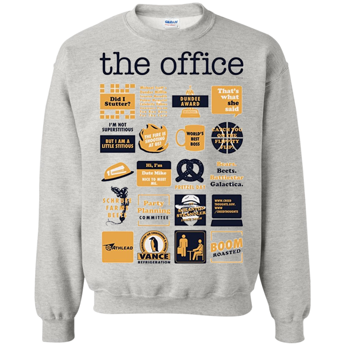 fad528500 The Office Quote Mash-Up Funny T shirt hoodie sweater | I need this ...