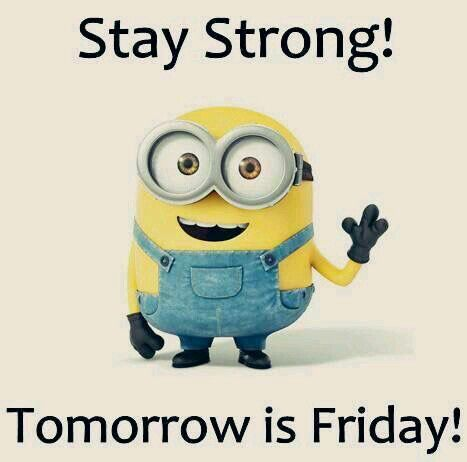 Happy Friday Eve and hang in there folks. Keep fighting the good fight.
