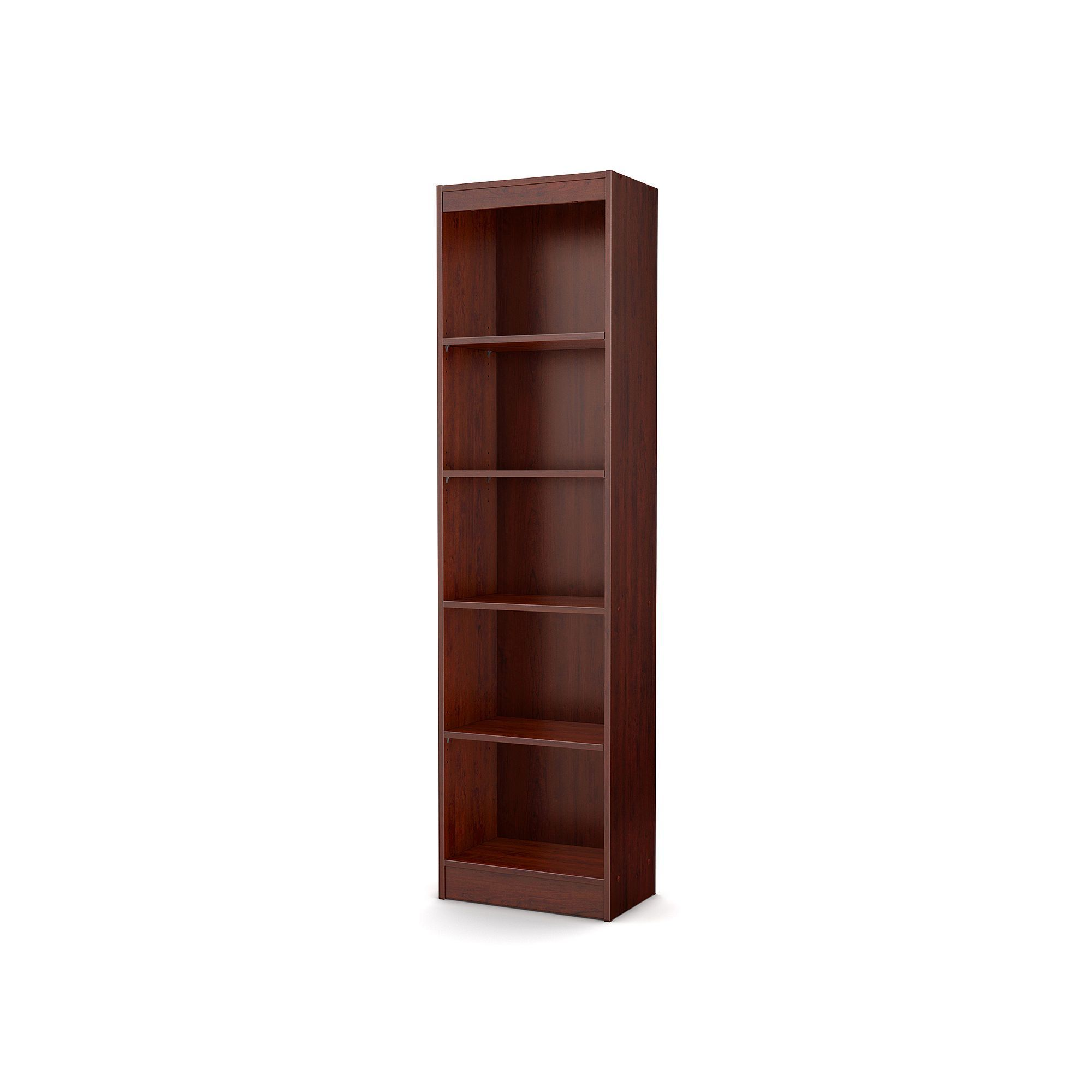 South Shore Axess 5 Shelf Narrow Bookcase Products
