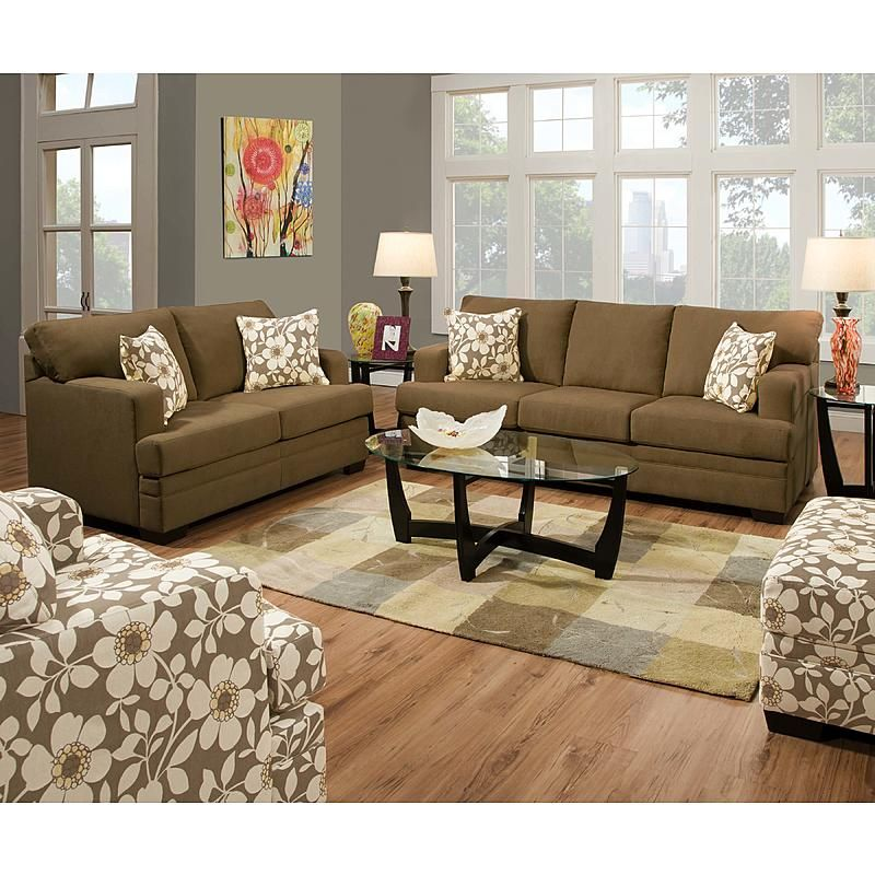 Simmons Upholstery 6491s Chicklet Sofa Truffle Tan Sears Outlet Buy Home Furniture Living Room Sets Living Room Collections