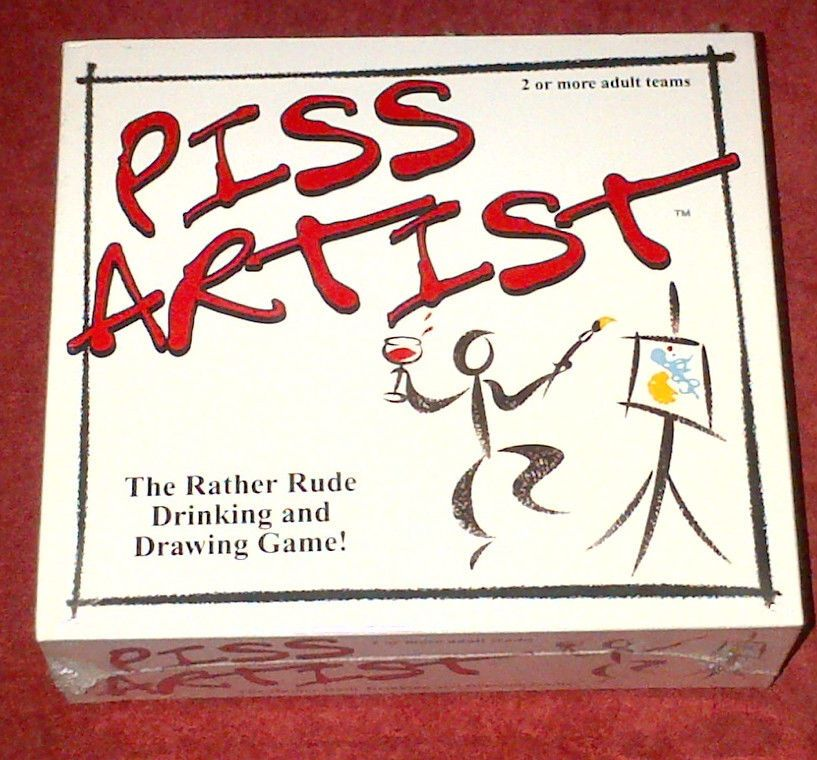 Dinner Party Game Part - 17: Piss Artist Drinking Board Game Dinner Party Game For Adults