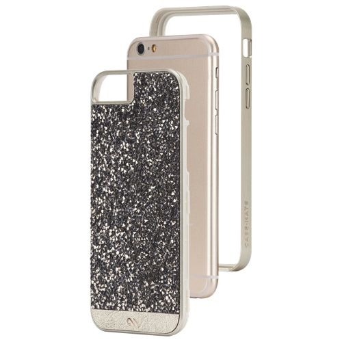 free shipping b729c a0ecf Case-Mate Brilliance iPhone 6 Fitted Hard Shell Case - Champagne ...
