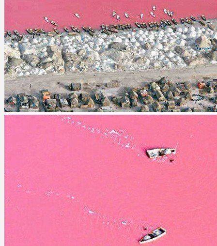 Senegal Rose Lake
