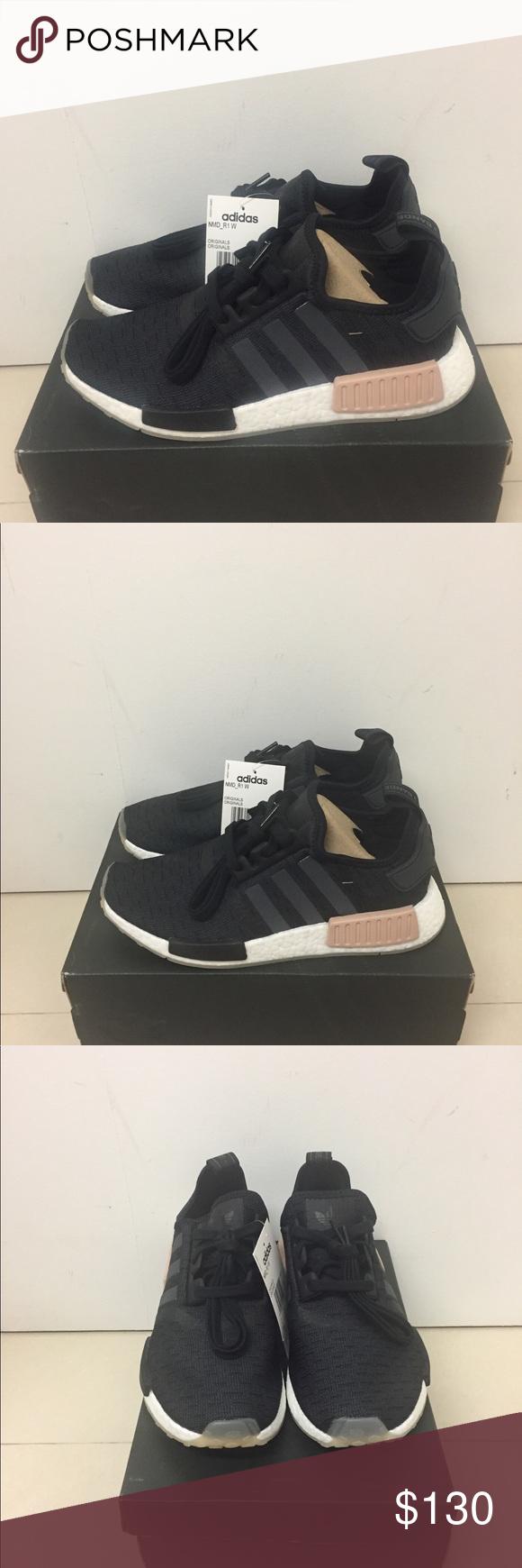 2a74677e3fca1 Nmd R1 Black Indigo CQ2011 Brand new 100% authentic Original box included  adidas Shoes Sneakers