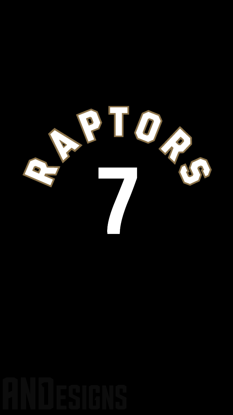 Pin by and1 designs on nba jersey iphone 66s wallpapers pinterest sports wallpapers raptors nba iphone 6 numbers voltagebd Image collections