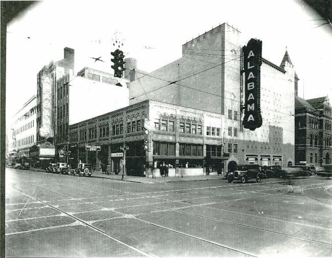 The Alabama Theater Birmingham In The 1920 S This Was A