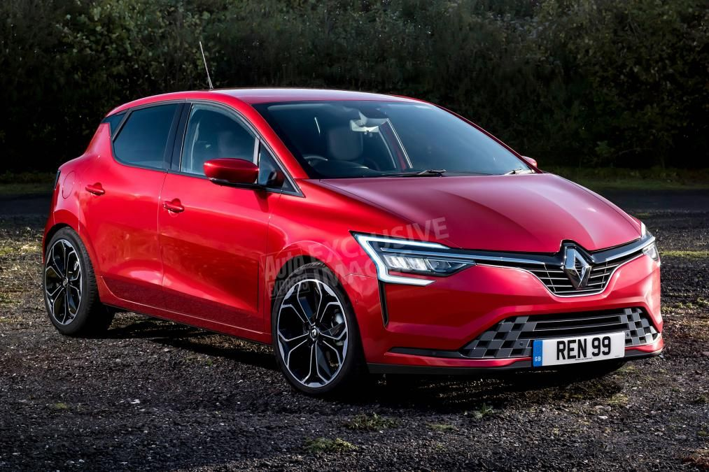 2019 Renault Clio - front (watermarked) | Cool cars | New renault
