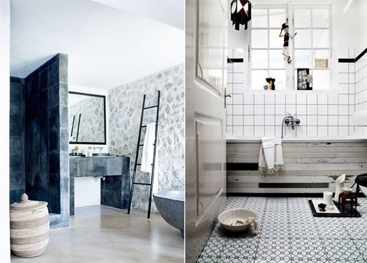 Interior Design Inspiration: Bathrooms