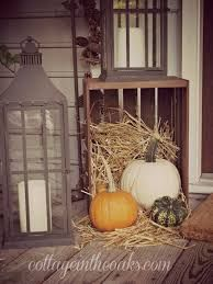 fall porch decoration diy fall front porch
