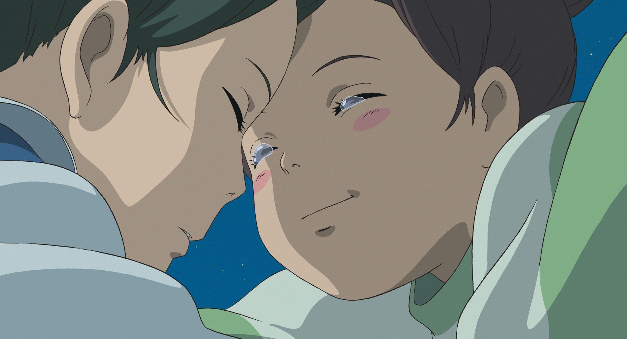 Image result for Spirited Away (2001) Chihiro and Haku