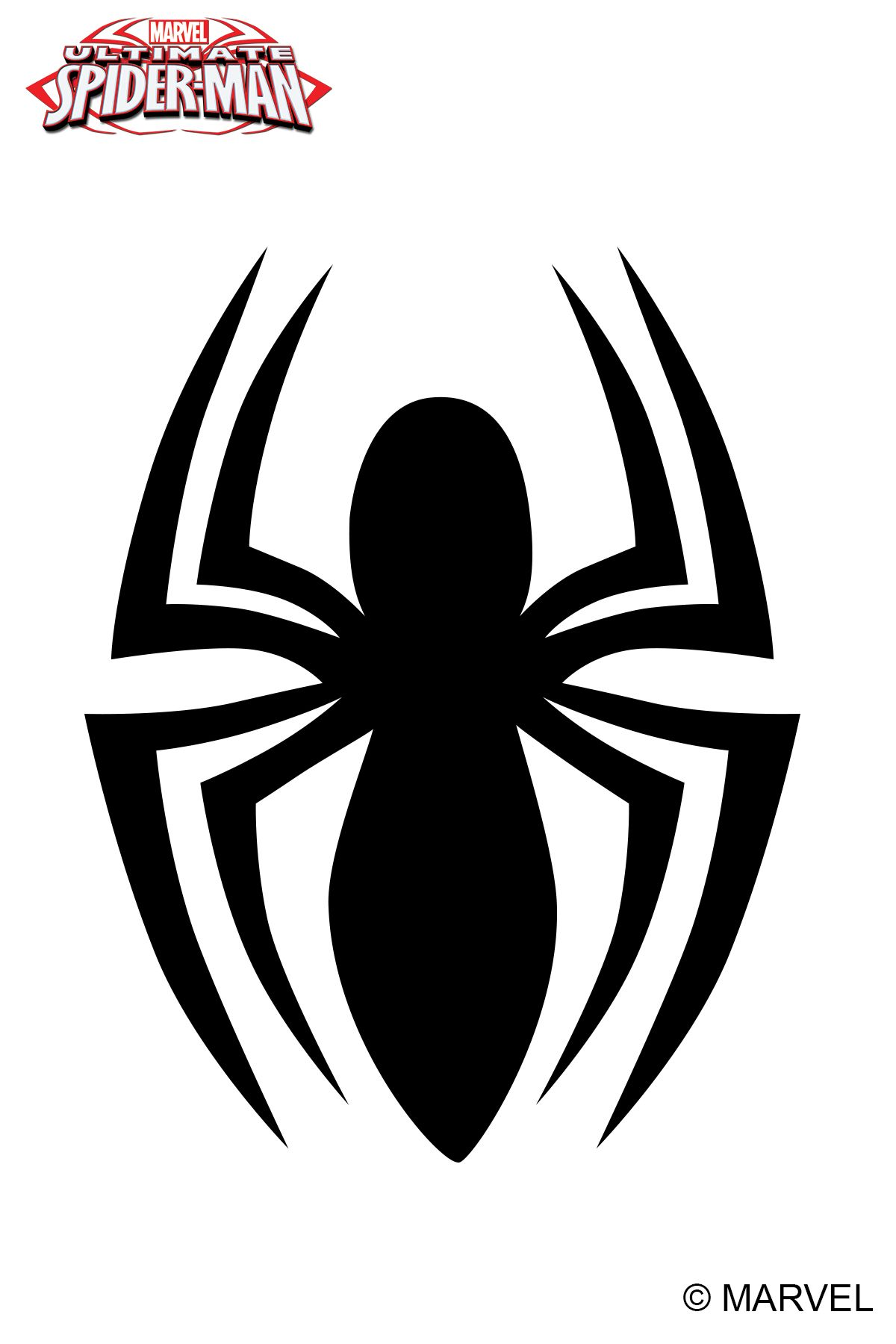 Spider Man Symbol Marvel Ultimate Spider Man Galacticink