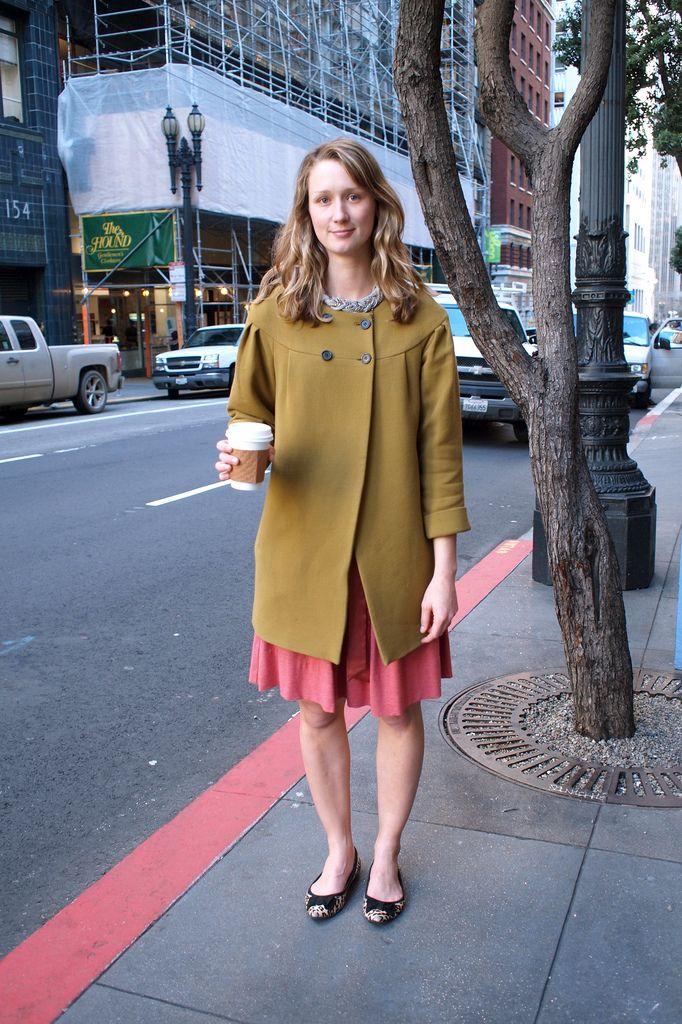 Olive Coat, Sutter & Montgomery