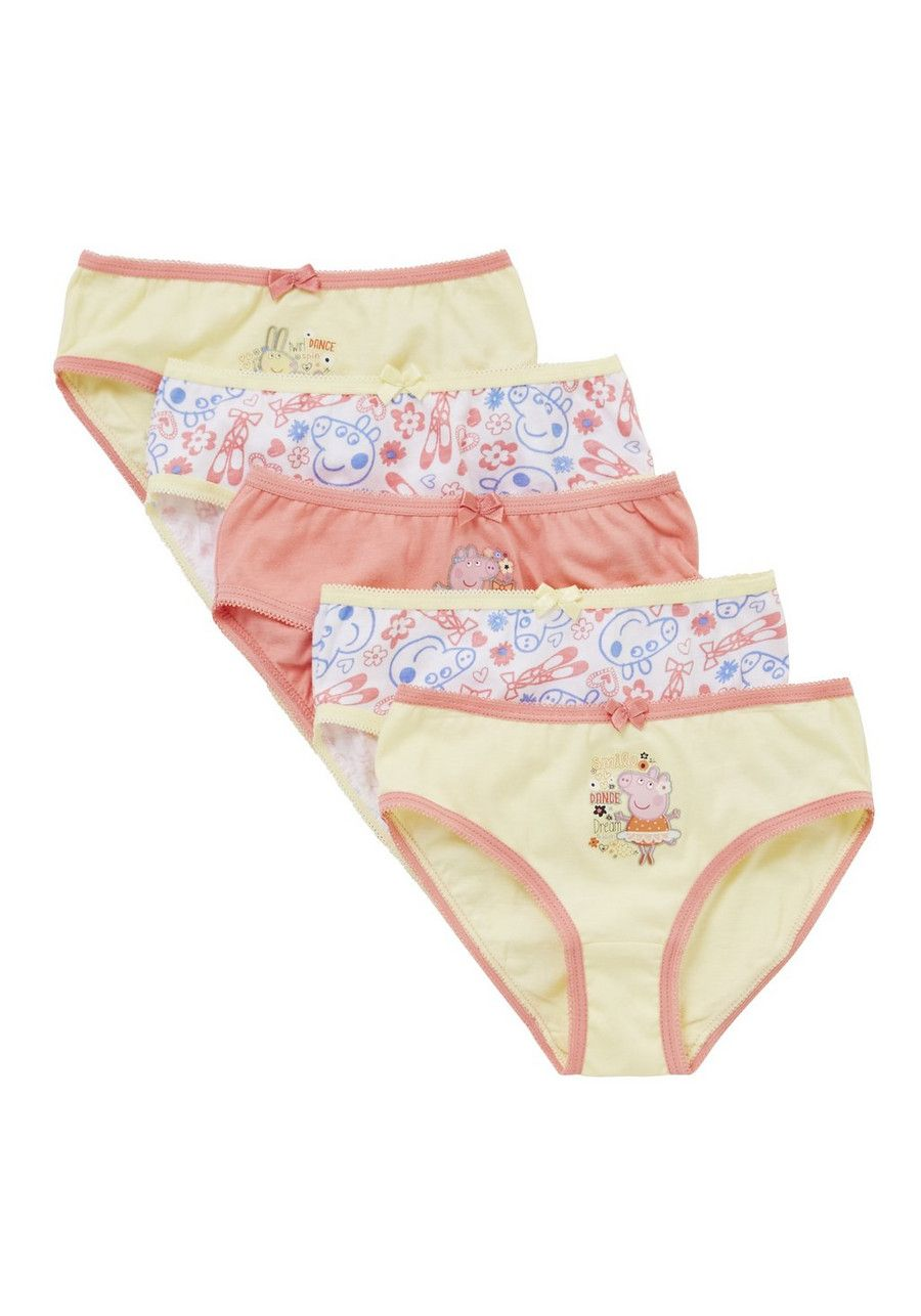 ba9914ad3aee Clothing at Tesco   Peppa Pig 5 Pack of Ballet Briefs > underwear > Peppa  Pig > Character Shop