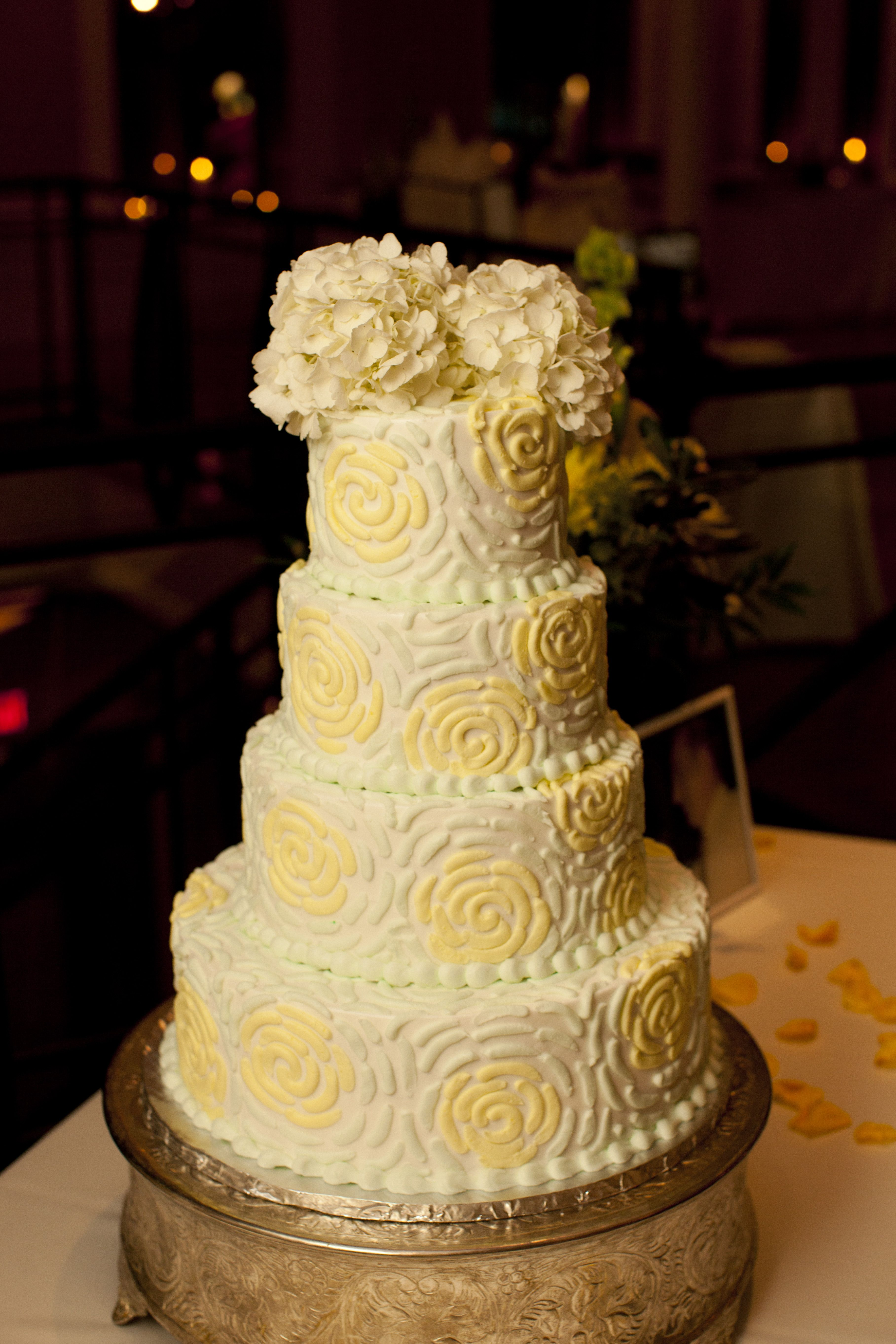 My Wedding Cake. It reminded me of the painting \