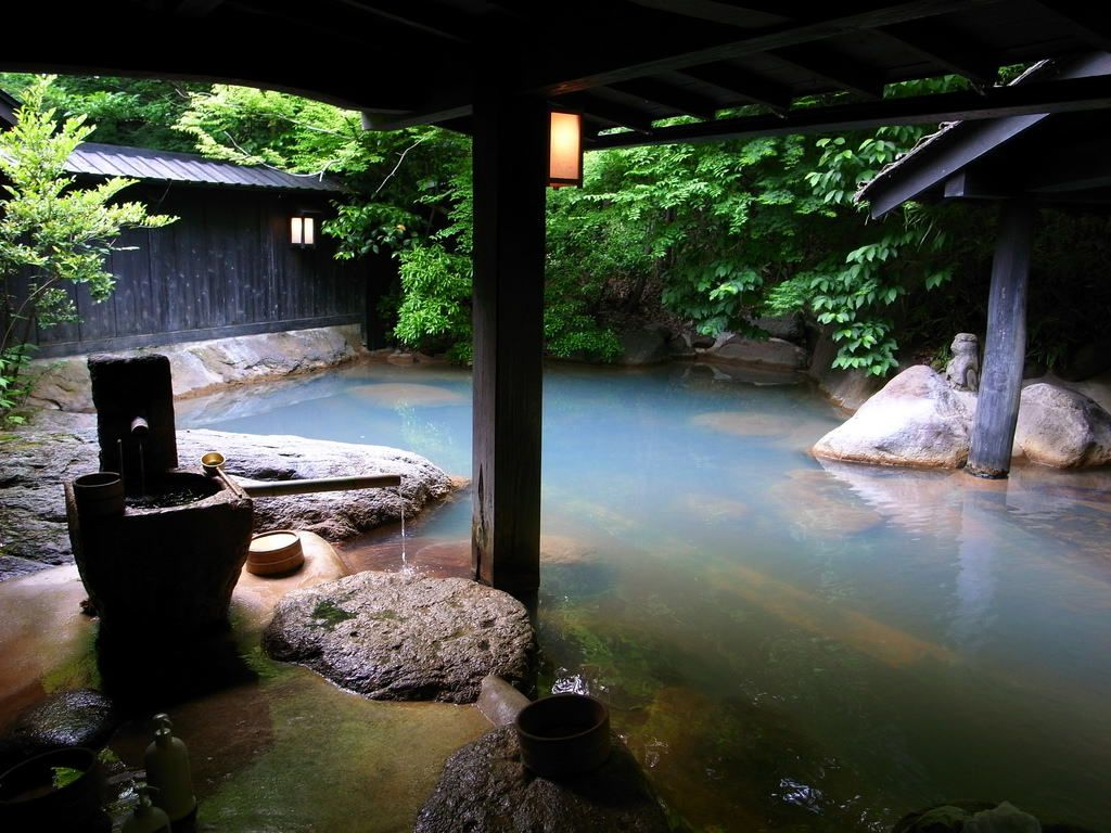 Image result for onsen in japan
