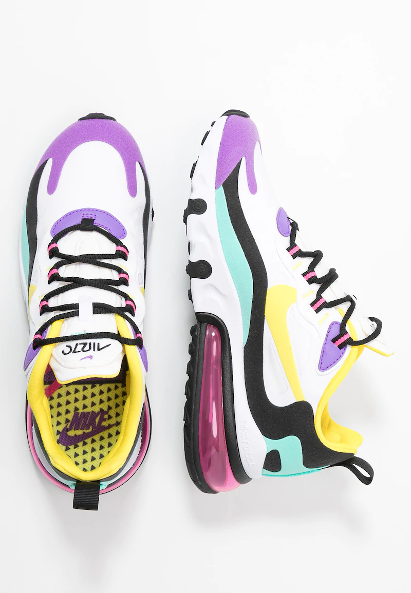 Nike Sportswear AIR MAX 270 REACT - Baskets basses - white ...