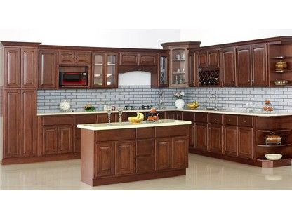 Traditional Cherry Arch Cabinets - Best-selling ...