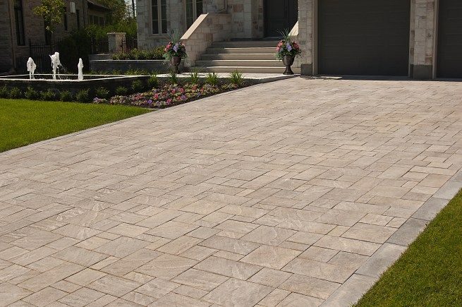 Leeroc Pavés, Briques et Pierres - produits du0027aménagement extérieur - pose de pave exterieur