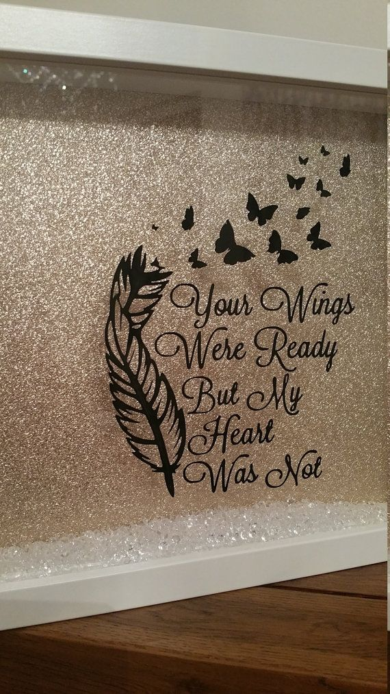 Your wings were ready but my heart was not by for Your wings were ready but my heart was not tattoo