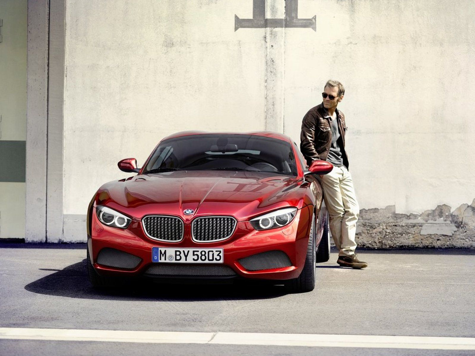 2012 BMW Zagato Coupe Concept Front Angle (8) | BMW | Pinterest ...