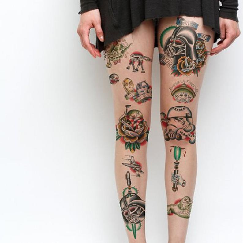 Star Wars Temporary Tattoos Set of 24 (With images