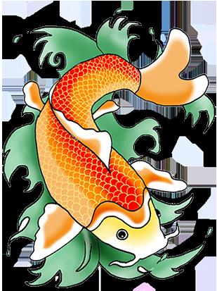 color koi fish clipart clipartfest cards inspiration asian rh pinterest com koi fish images clipart koi fish clipart black and white